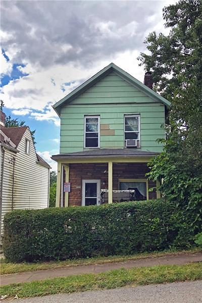 N Braddock PA Single Family Home For Sale: $30,000