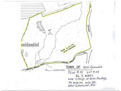 West Greenwich Residential Lots & Land For Sale: 39 Hopkins Hill Rd