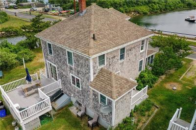 Block Island Single Family Home For Sale: 832 Ocean Av