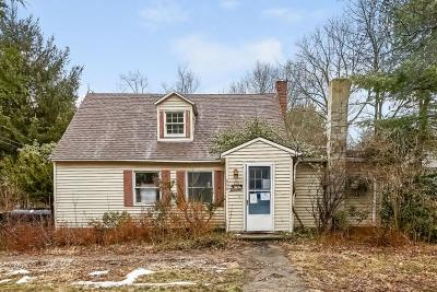 Burrillville Single Family Home For Sale: 844 Lapham Farm Rd