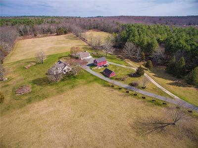 Hopkinton Single Family Home Act Und Contract: 58 Dye Hill Rd