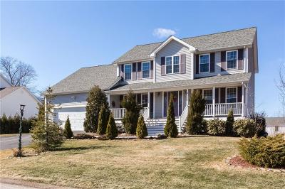 Cranston Single Family Home For Sale: 2 Gray Coach West