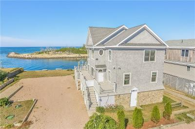 Charlestown Single Family Home For Sale: 834 - B West Beach Rd