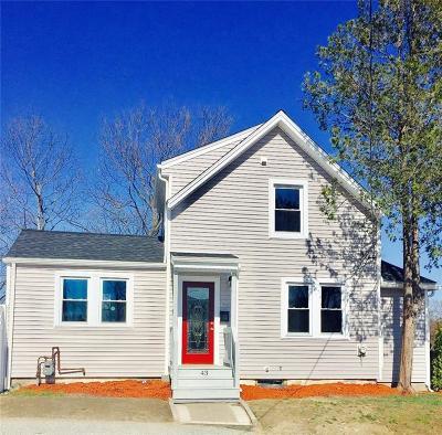 Johnston Single Family Home For Sale: 43 Lee St