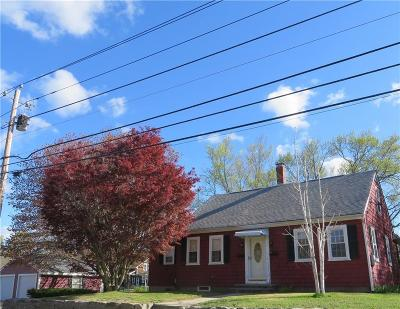 Burrillville RI Single Family Home Sold: $223,000