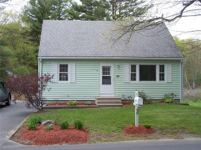 Blackstone MA Single Family Home Sold: $249,900