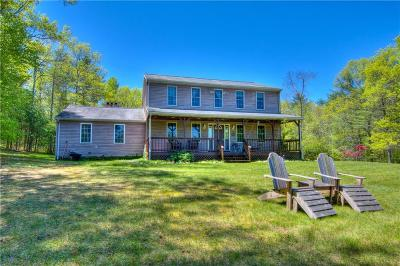 West Greenwich Single Family Home For Sale: 179 Hudson Pond Rd