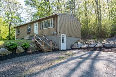 Burrillville Single Family Home Act Und Contract: 230 Black Hut Rd