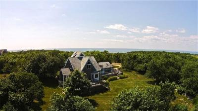 Block Island Single Family Home For Sale: 1796 West Beach Rd