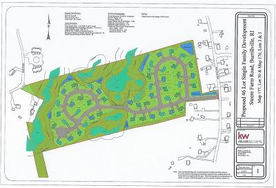 Burrillville Residential Lots & Land For Sale: 0 Steere Farm Rd