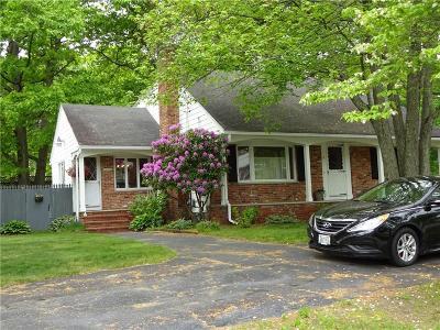 Cranston Single Family Home For Sale: 51 Thunder Trl