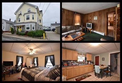 Pawtucket Multi Family Home For Sale: 15, 19, 21, 25 Merrick St