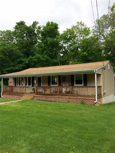 Burrillville Single Family Home For Sale: 47 Reservoir Rd