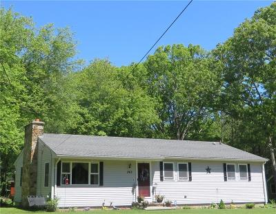 Scituate RI Single Family Home Sold: $245,000