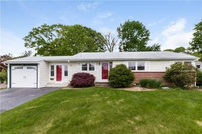 Cranston Single Family Home For Sale: 108 Mount View Dr
