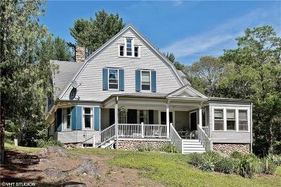 Hopkinton Single Family Home For Sale: 91 Tomaquag Valley Rd