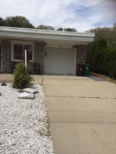 Woonsocket Single Family Home For Sale: 191 Fairfield Av