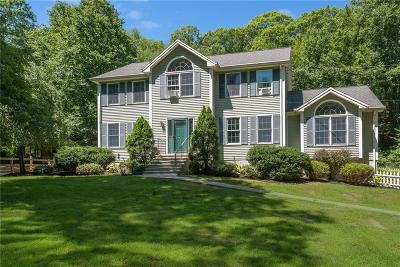 North Smithfield Single Family Home For Sale: 759 Woonsocket Hill Rd