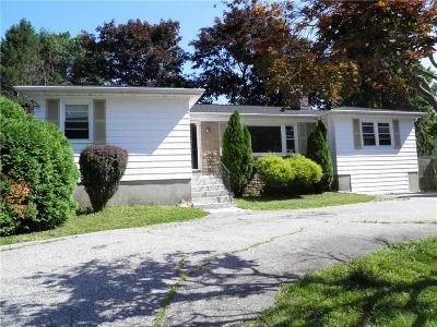 Johnston Single Family Home For Sale: 176 Central Av