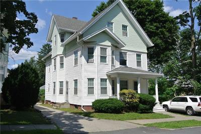 Providence Multi Family Home Act Und Contract: 260 - 262 Cypress St