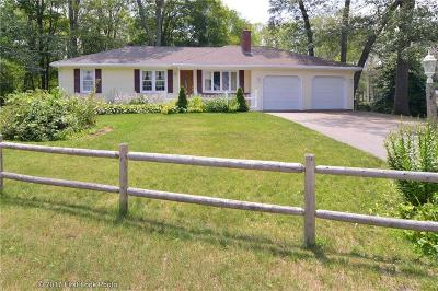 Cumberland Single Family Home Act Und Contract: 18 Westwood Dr