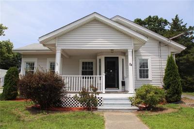 Lincoln Single Family Home For Sale: 24 Walker Av