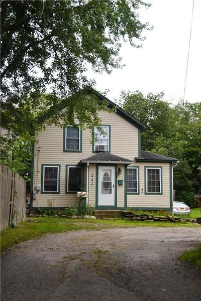 Burrillville Multi Family Home Act Und Contract: 223 Harrisville Main St