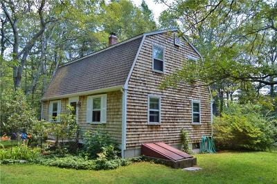 Charlestown RI Single Family Home Sold: $285,000