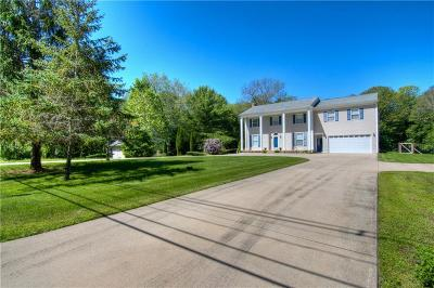 Glocester Single Family Home For Sale: 717 Chopmist Hill Rd