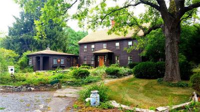 Glocester Single Family Home For Sale: 547 Tourtellot Hill Rd