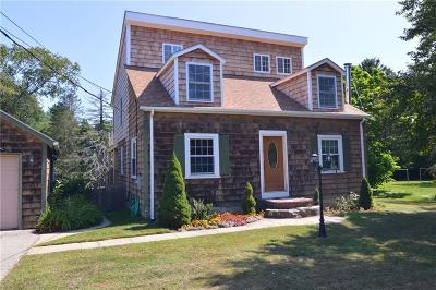 Glocester Single Family Home For Sale: 225 Money Hill Rd