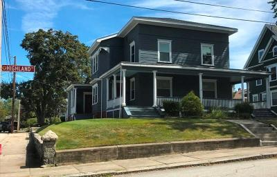 Woonsocket Multi Family Home For Sale: 121 Highland St