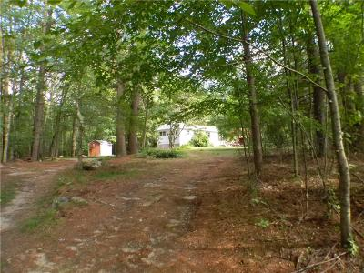 Burrillville Single Family Home For Sale: 806 Reservoir Rd