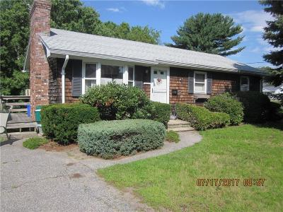 Woonsocket Single Family Home For Sale: 129 St. Hughes St