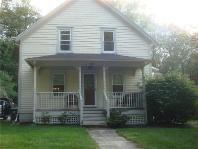 Burrillville Single Family Home For Sale: 49 Cooper Hill Rd