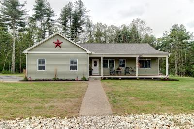 Glocester Single Family Home For Sale: 46 Cross Rd