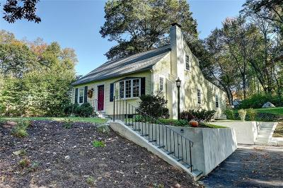 Cumberland Single Family Home Act Und Contract: 245 Sneech Pond Rd
