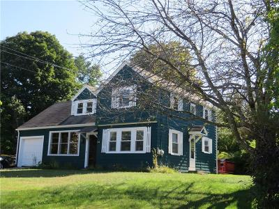 Burrillville RI Single Family Home Sold: $216,500