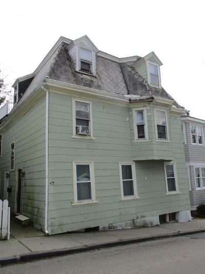 Newport Multi Family Home Act Und Contract: 47 William St