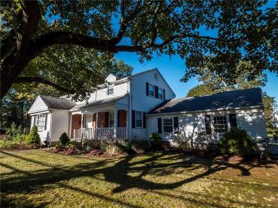 Woonsocket Single Family Home For Sale: 903 Mendon Rd