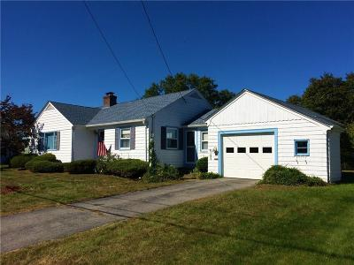Cranston Single Family Home For Sale: 46 Belmont Rd