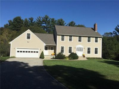 Glocester Single Family Home For Sale: 247 Snake Hill Rd