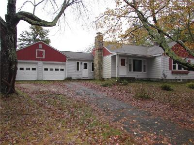 Glocester Single Family Home For Sale: 1132 Reynolds Rd