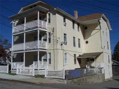 Woonsocket RI Multi Family Home Act Und Contract: $269,000