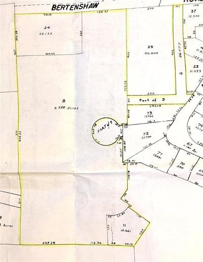 Woonsocket Residential Lots & Land For Sale: 0 Bertenshaw/Miles Rd