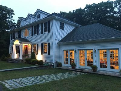 Scituate Single Family Home For Sale: 180 George Washington Hwy