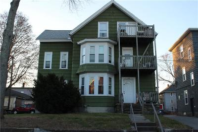 Woonsocket Multi Family Home For Sale: 206 Dulude Av