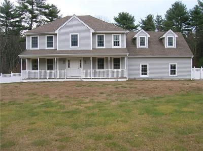Glocester Single Family Home For Sale: 159 Money Hill Rd