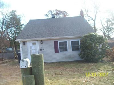Kent County, Providence County, Washington County Single Family Home Act Und Contract: 140 Clinton Av