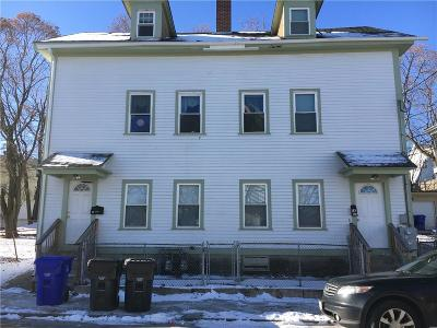 Central Falls Multi Family Home For Sale: 14 Earle St